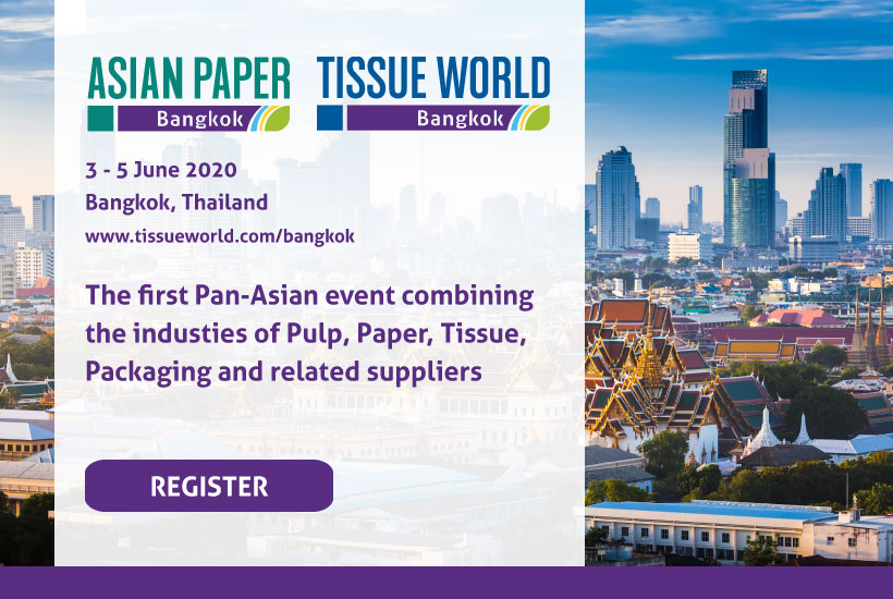 asian paper tissue world Bangkok paper pulp exhibition show event